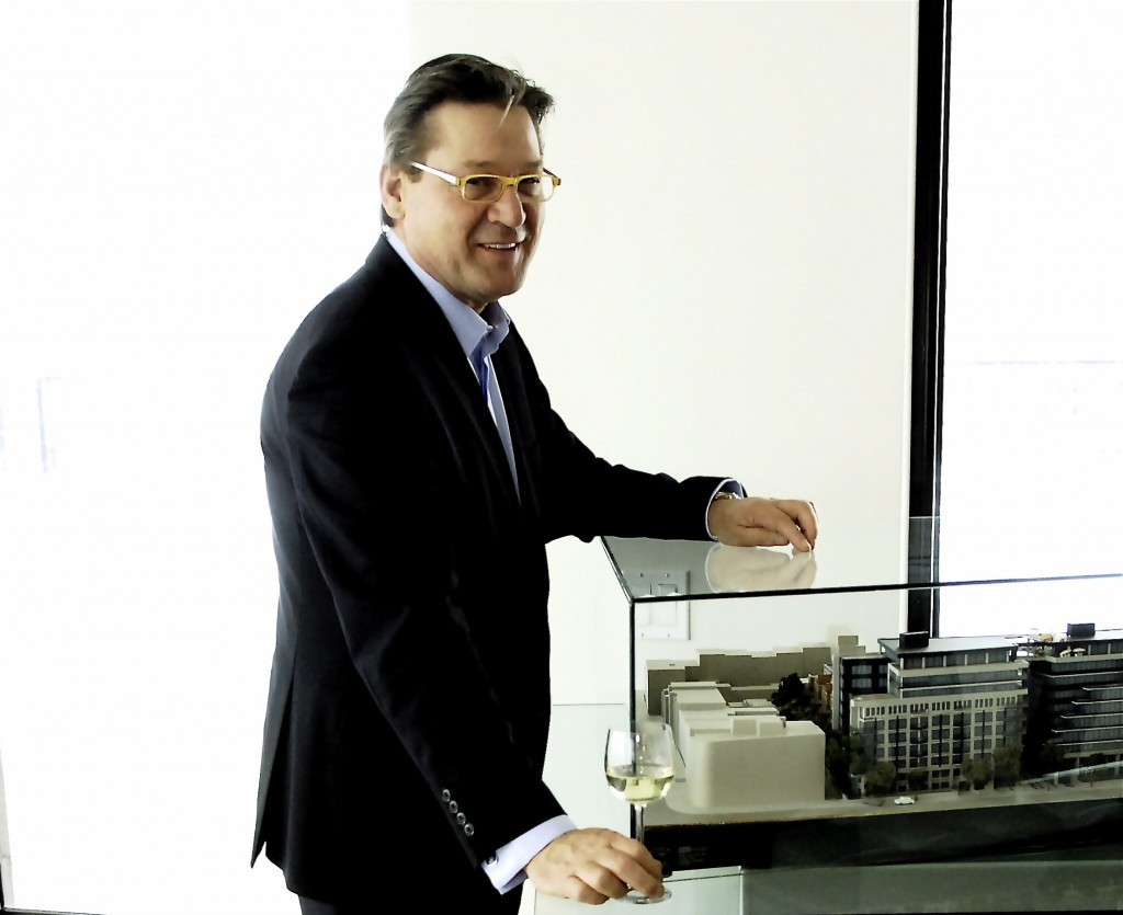 Richard Homburg at 333 Sherbrooke Luxury Condos Model, Montreal Feb.2009