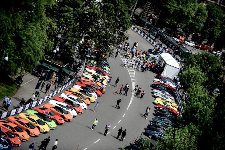 Milano Parc Fermè Piazza Castello