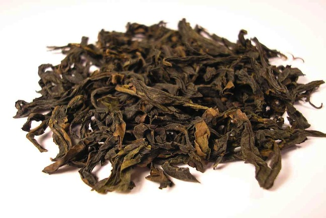 Qi_Lan_Oolong_tea_leaf