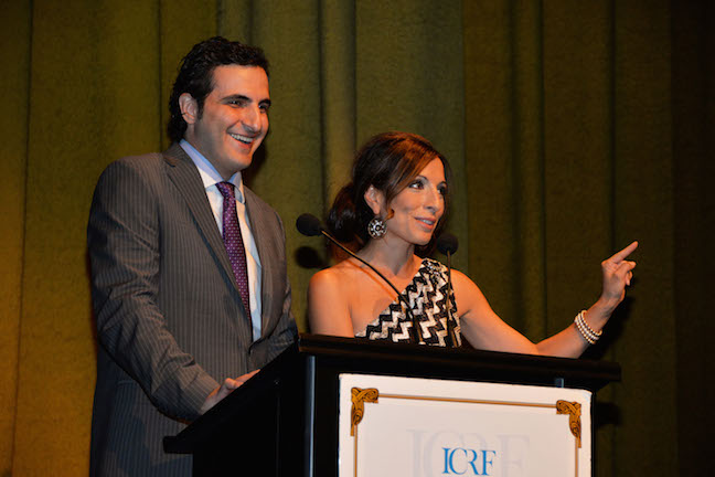 ICRF GALA HOSTS FREEWAY FRANK & NATASHA GARGIULO- howard kay photo