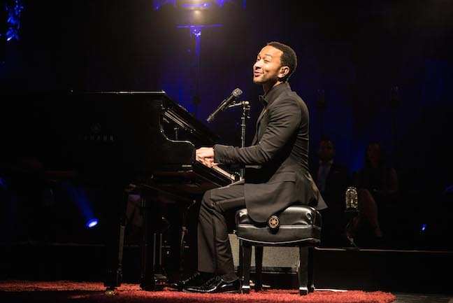 John Legend performance- cory wexler photo