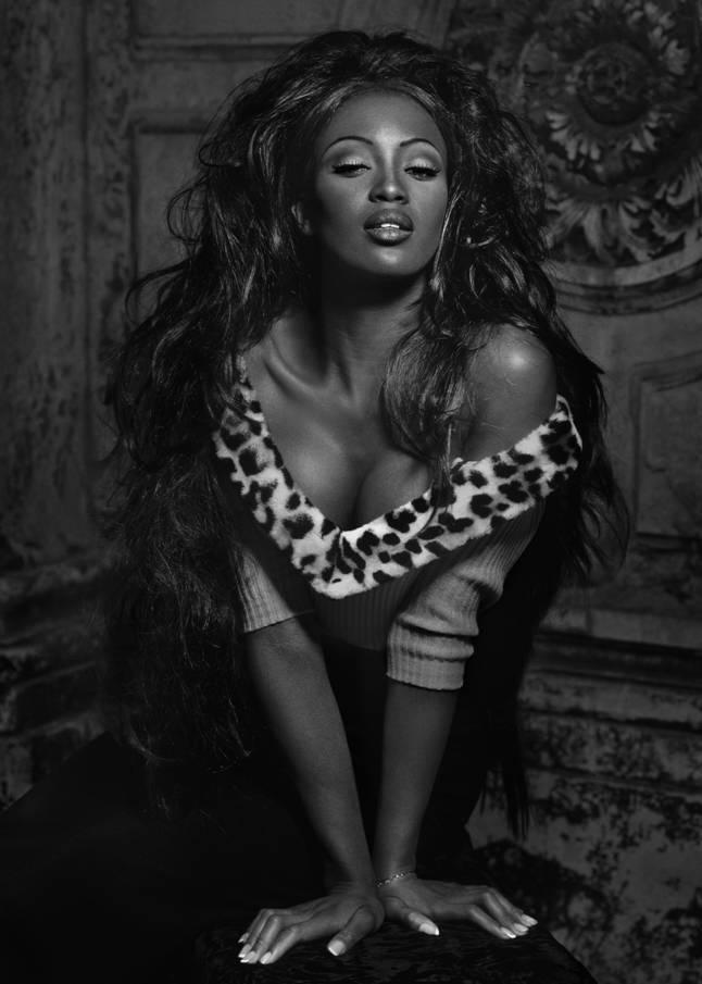 Naomi Campbell, Venice, 1991