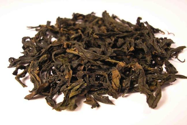 Qi_Lan_Oolong_tea_leaf